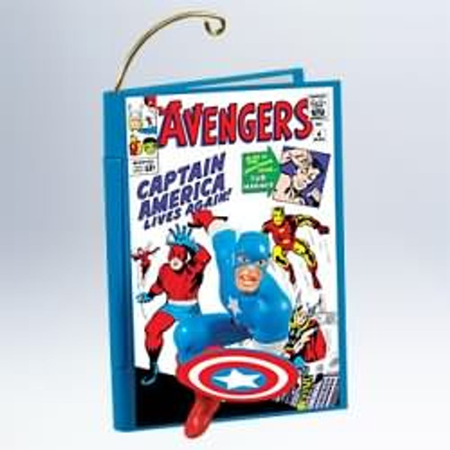 2011 Comic Book Heroes #4F - Captain America and The Avenger