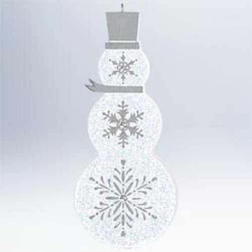 2011 Buttoned-Up Snowman