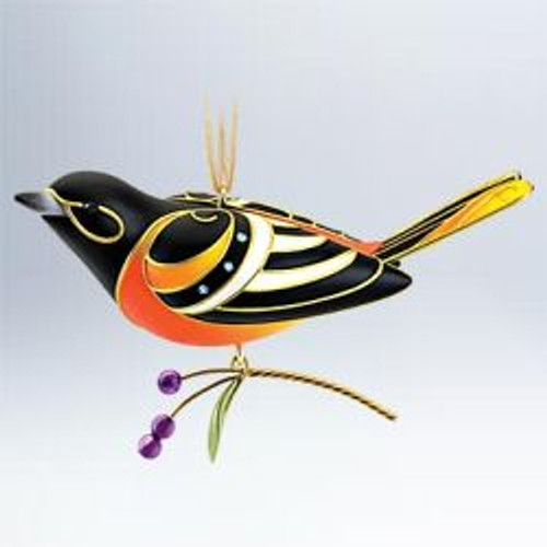 2011 Beauty Of Birds #7 - Baltimore Oriole