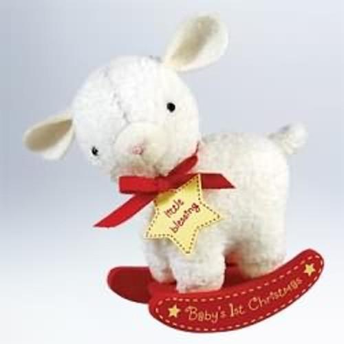 2011 Baby's 1st Christmas - Lamb