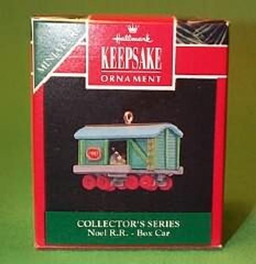 1992 Noel Railroad #4 - Box Car