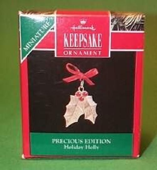 1992 Precious Edition #3 - Holiday Holly