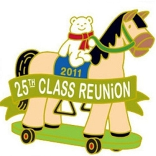 2011 Pin - KOC 25th Class Reunion Pin