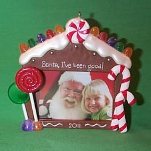 2011 Sittin With Santa - Photoholder