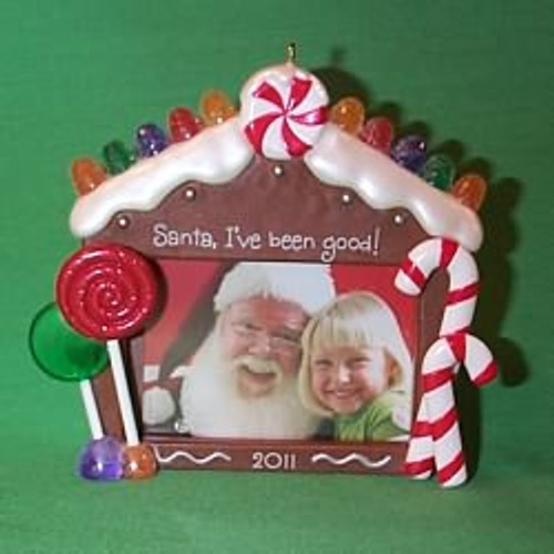 2011 Sittin With Santa - Photoholder
