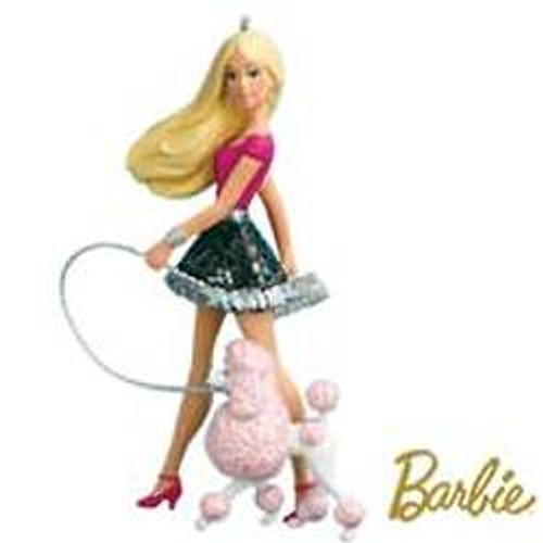 2010 Barbie - A Posh Pair! - Poodle