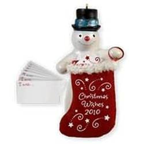 2010 Christmas Wish Keeper