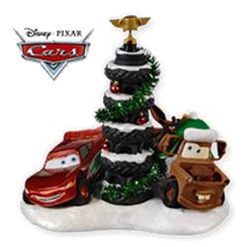 2010 Disney - Cars - Piston Cup Tire Tree