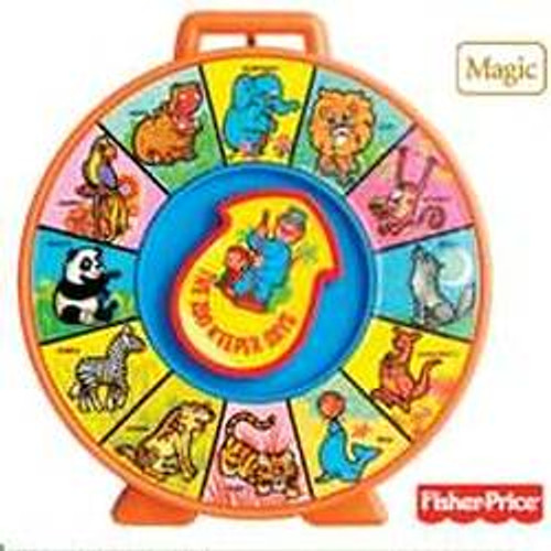 2010 Fisher Price - The Zoo Keeper Says