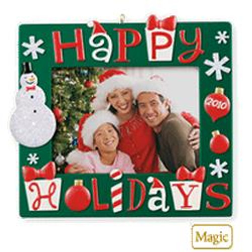 2010 Happy Holidays Photo Holder