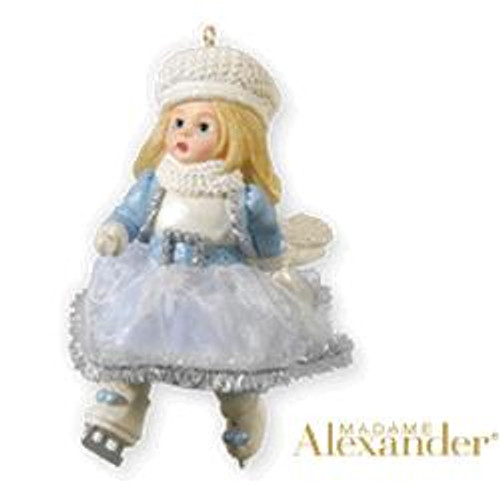 2010 Madame Alexander #15 - Dazzling Winter Skater