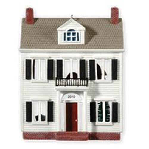 2010 Nostalgic Houses #27 - A Colonial Christmas