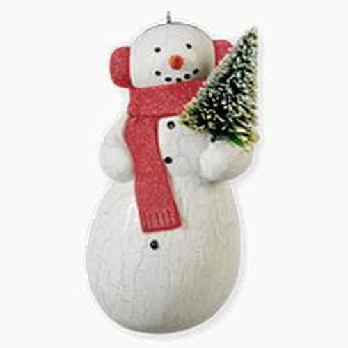2010 Spirited Snowman
