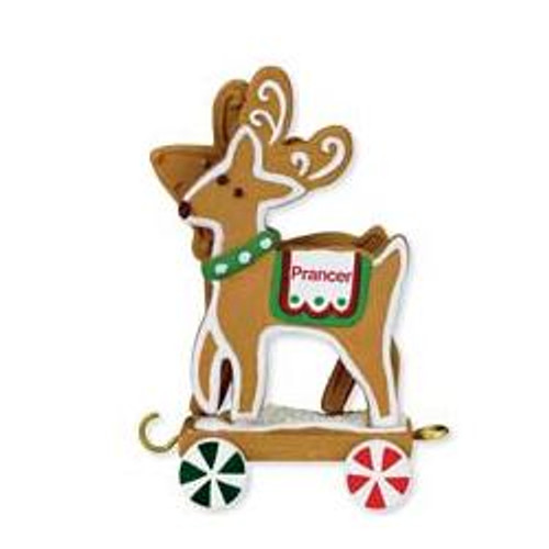 2009 Santa Sleigh Collection - Prancer - Vixen