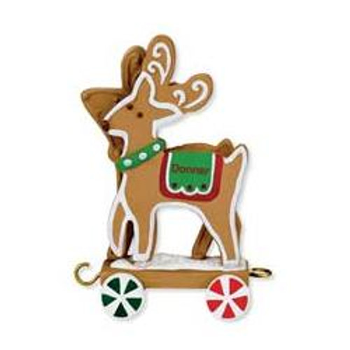 2009 Santa Sleigh Collection - Donner - Blitzen