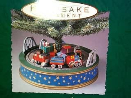 1993 Holiday Express Tree Base Train-SDB