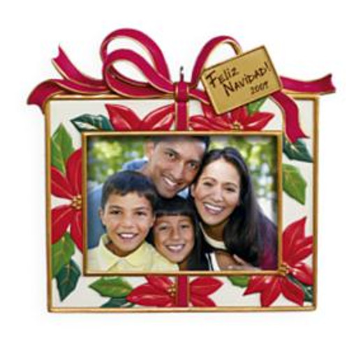 2009 Feliz Navidad - Photo Holder