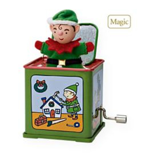2009 Jack In The Box #7F - Pop! Goes The Elf