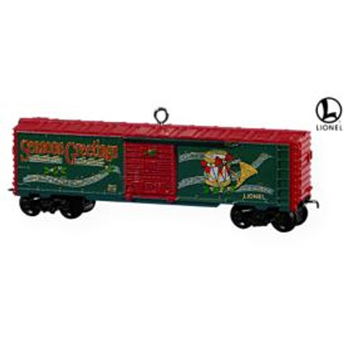 2009 Lionel - Holiday Boxcar