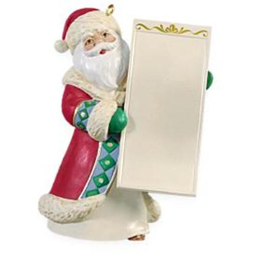 2009 Santa's List - Write