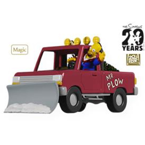2009 Simpsons - Mr Plow