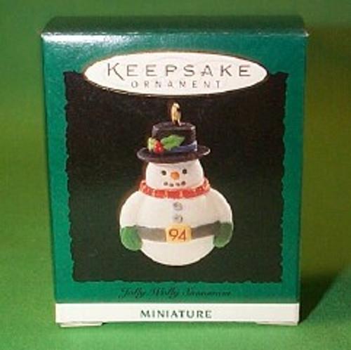 1994 Jolly Wolly Snowman
