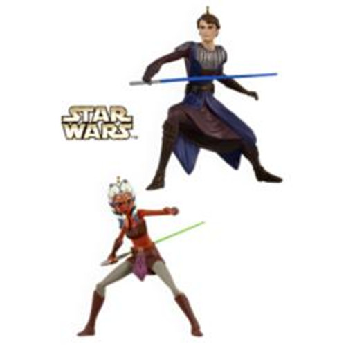2009 Star Wars - Anakin Skywalker and Ahsoka Tano