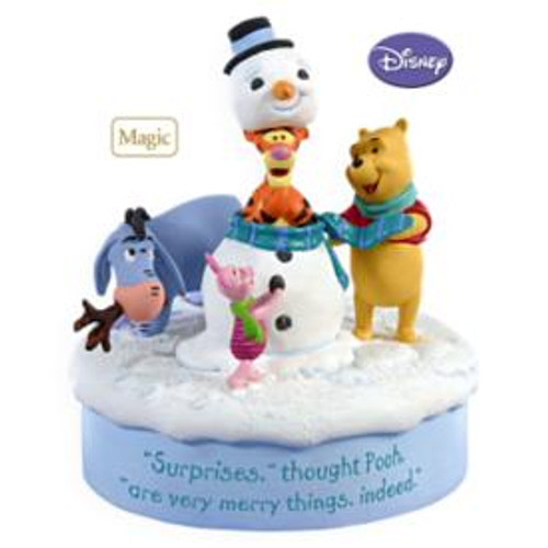 2009 Winnie The Pooh - Snowman Surprise