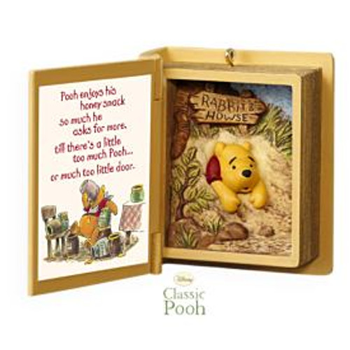 2009 Winnie The Pooh Book #12F - A Snack For Pooh