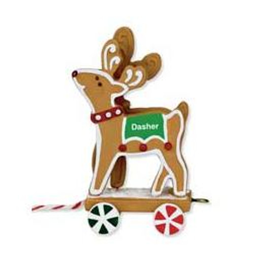 2009 Santa Sleigh Collection - Dasher - Dancer