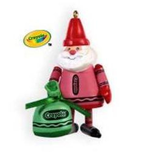 2009 Crayola - Colorful Santa - Limited