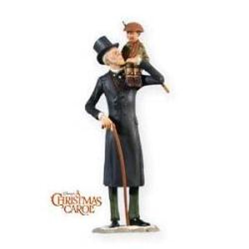 2009 Ebenezer Scrooge And Tiny Tim - Limited