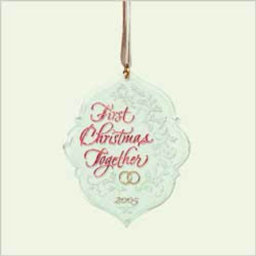 2005 1st Christmas Together - Acrylic