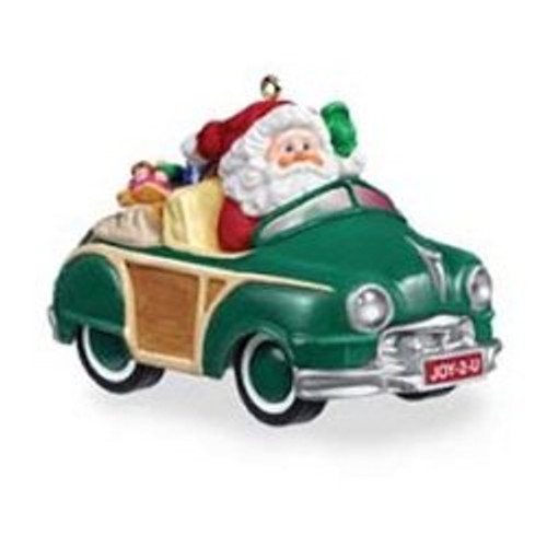 2005 Here Comes Santa - Green Woody