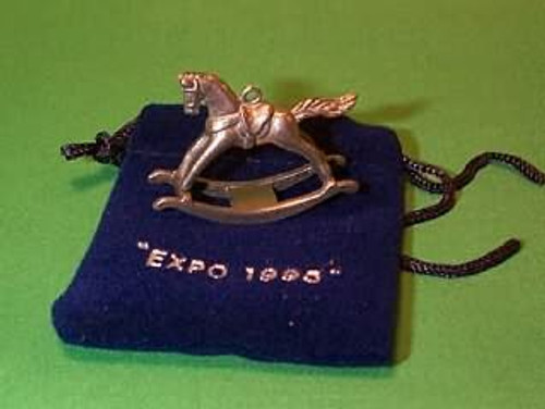 1995 Rocking Horse - Mini - Pewter - Expo