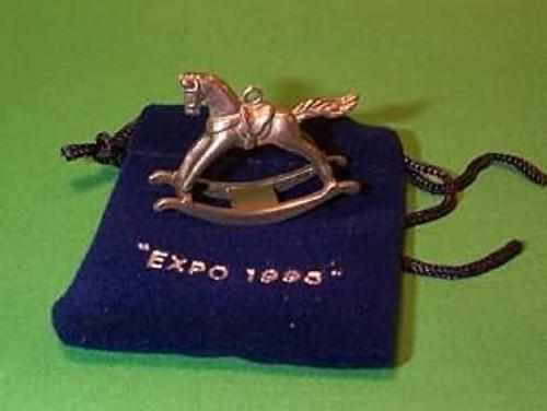 1995 Rocking Horse - Mini - Pewter - Expo