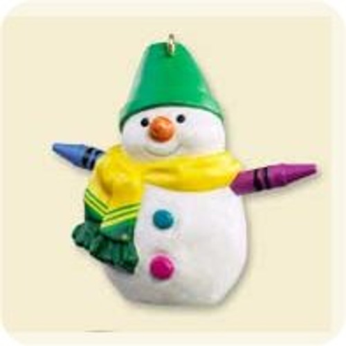 2007 Crayola Snowman - Colorway