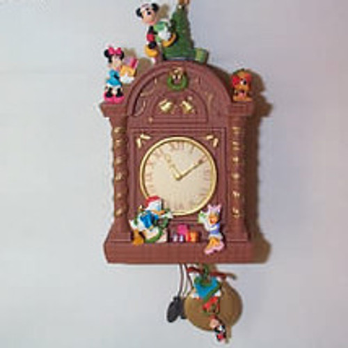 2007 Disney - Time For Christmas Clock