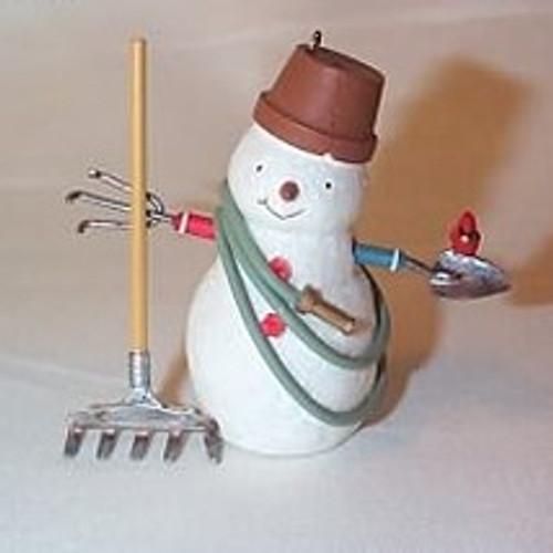 2007 Snowmen - Getting Ready To Garden