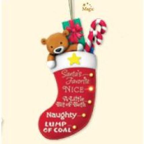 2007 Naughty-or-Nice Stocking