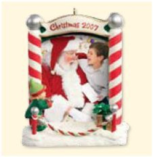 2007 Santa and Me Photoholder