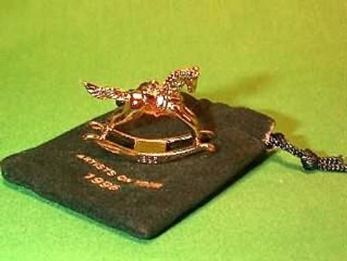 1996 Rocking Horse - Mini - Gold