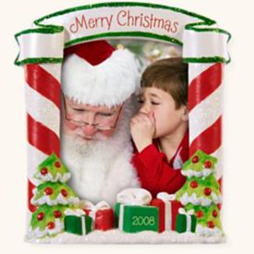 2008 Sittin On Santas Lap Photo