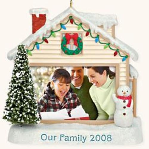 2008 Our Family Photoholder