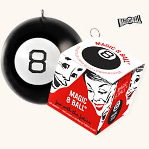 2008 Magic 8 Ball Set Of 2