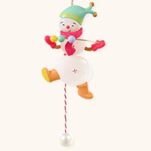 2008 Juggling Snowman