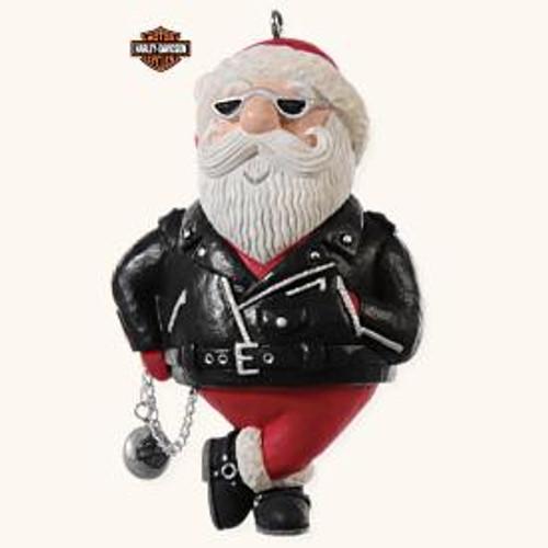 2008 Harley - Jolly Rider - Santa