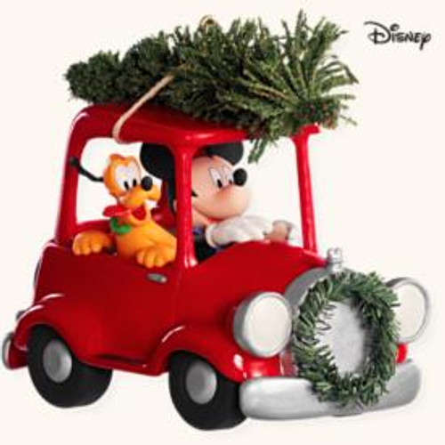2008 Disney - Bringing Home Tree - Car