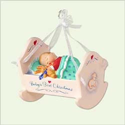 2005 Baby's 1st Christmas - Crib