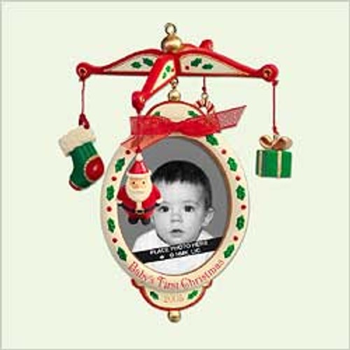 2005 Baby's 1st Christmas - Photoholder